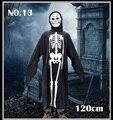 Niños y Adultos de HALLOWEEN SCREAM OFICIAL Capa Con Capucha TRAJE + MÁSCARA de Fantasma de Halloween Disfraz 90-120 cm