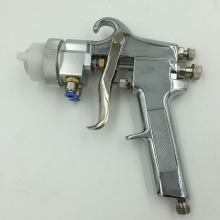 цена на Chrome Spray System Paint Guns Professional Spray On Chrome Double Nozzle Spray Gun SAT1182