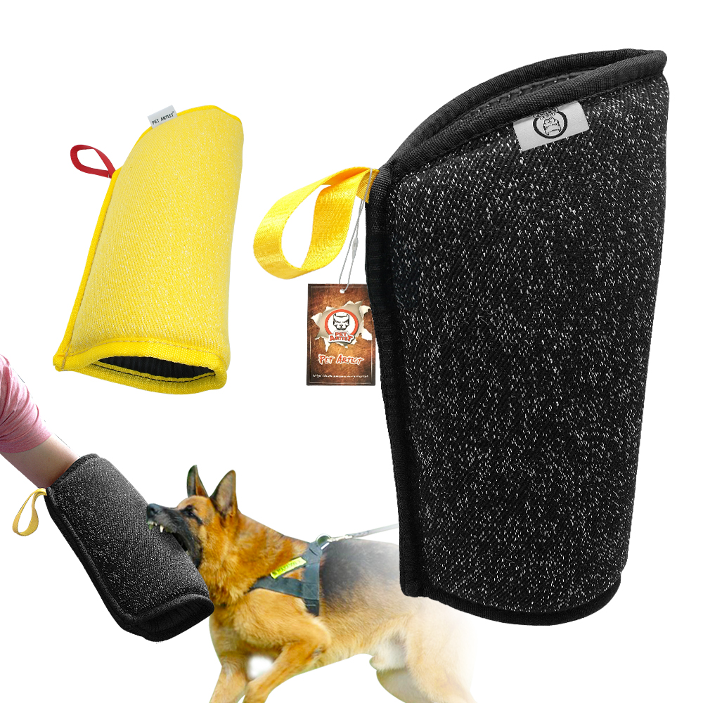 Dog Bite Arm Protection Sleeve Pet Training Biting Tool For Medium Large Dogs Police Dog German Shepherd Pitbull