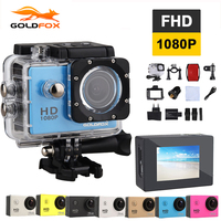 GOLDFOX 1080P Full HD Action Camera 8MP Photo Pixels Sport Video Camera 30m Waterproof Outdoor Sports