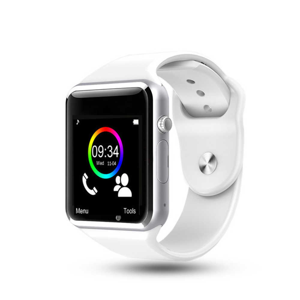 Free Shipping A1 WristWatch Bluetooth Smart Watch Sport Pedometer with SIM Camera Smartwatch For Android Smartphone Russia T15
