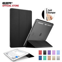 ESR Translucent Hybrid Back Cover Soft TPU Corner Protection Ultra Slim Auto Wake Up Sleep Smart