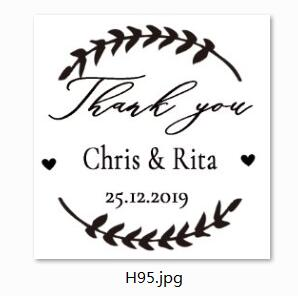 PERSONALISED HANDMADE BY RUBBER STAMP SELF INKING WITH YOUR NAME CARDS CRAFTS