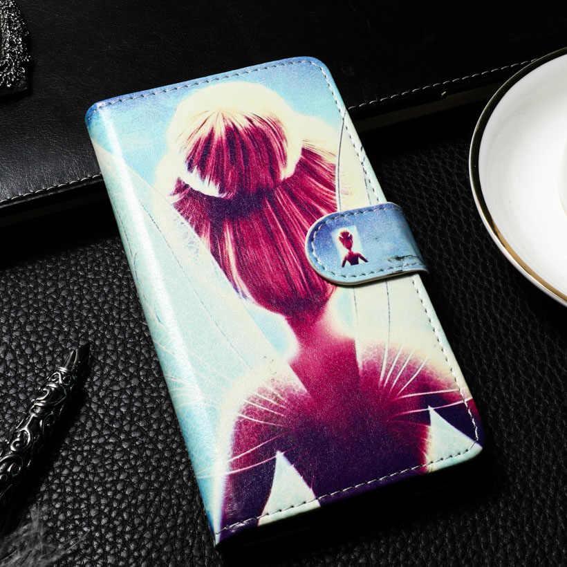 TAOYUNXI Xiaomi Redmi 3 × 4 5 6 4A 4X 赤米 4 4A Redmi4A Redmi4 redmi5 Redmi4x 塗装財布ケース