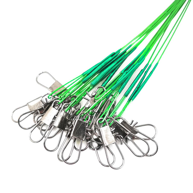20PCS/lot Fishing Lure Trace Rope Wire Leader