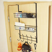 Refrigerator Rack Side Shelf Sidewall Holder Closet Shelf Storage Rack Layered Hanging Basket Shelf Kitchen Organizer Holder