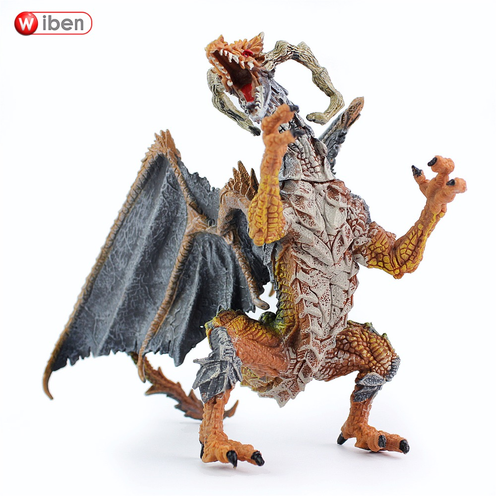 Wiben Anime The I Of The Dragon Model Action & Toy Figures High Quality Collection wiben animal hand puppet action