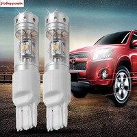 2pcs 6000K 140W Sharp Chip LED 7443 W21 5W 580 T20 LED Bulbs For Car Turn