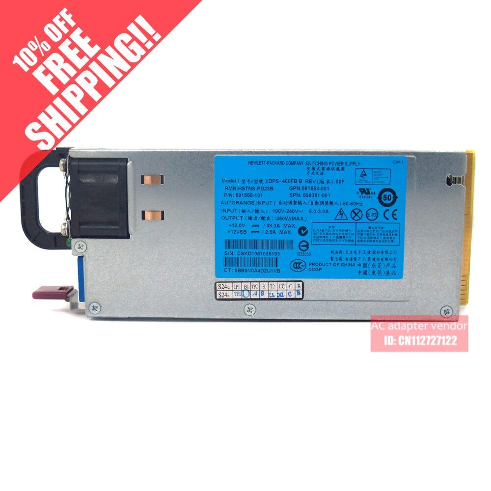 Pour HP DL180 380G6 460 W serveur platine alimentation 591553-001 599381-001Pour HP DL180 380G6 460 W serveur platine alimentation 591553-001 599381-001