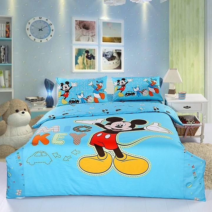 online kaufen gro handel mickey mouse bettw sche sets aus china mickey mouse bettw sche sets. Black Bedroom Furniture Sets. Home Design Ideas