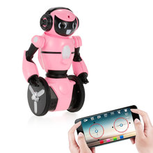 Wltoys F4 0.3MP Camera Wifi FPV APP Control Intelligent G-sensor Robot Super Carrier RC Toy Gift for Children Kids Entertainment(China)