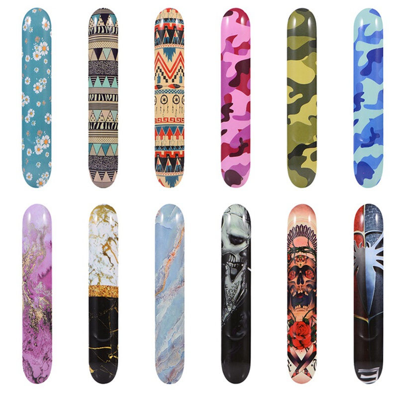 New Camo Stone Design Replaceable Magnetic Caps  Outer Cases Vape Side Cover Case For IQOS 3