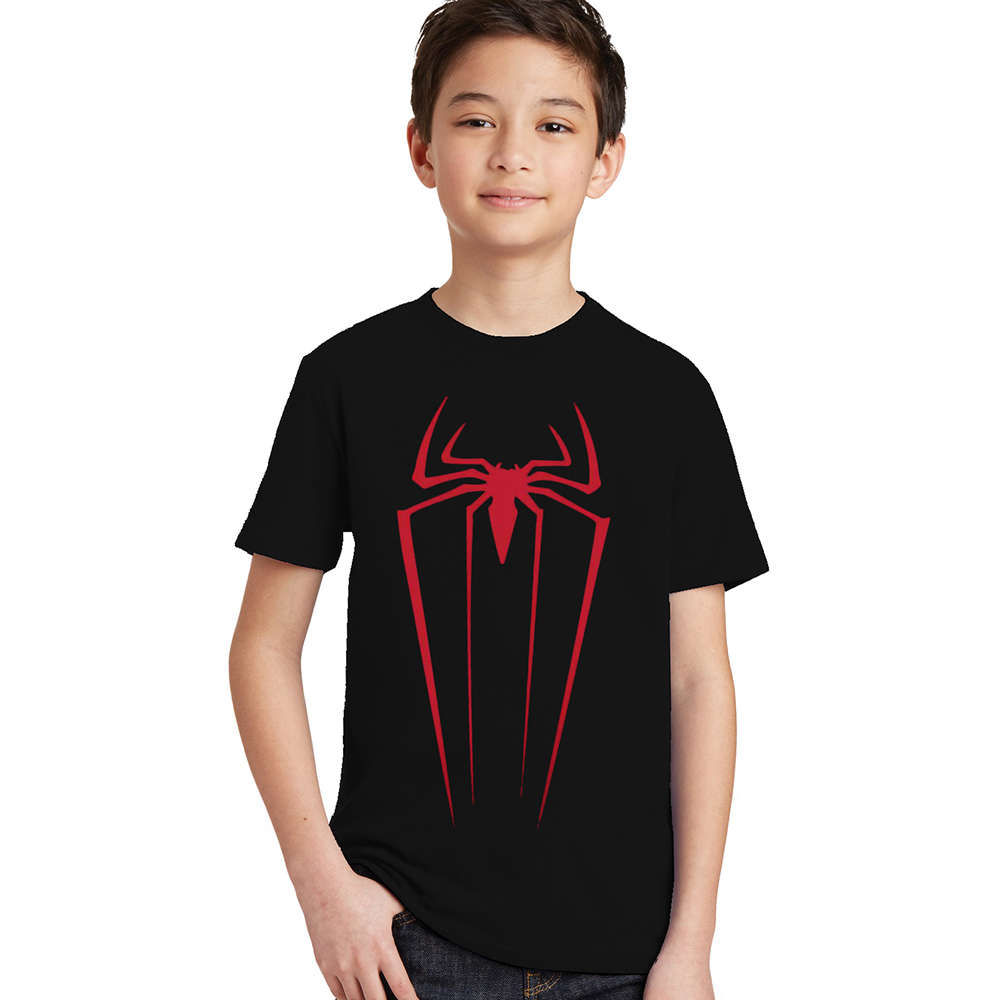 3-10Y children Boys Summer Spider-man T Shirt Boy Spider Man T-shirt Kids Cotton Fashion baby Top Spiderman Tee 2017 New Arrival db5105 dave bella spring baby boy cotton sailing striped t shirt infant clothes toddle t shirt boys top boys t shirt baby tee