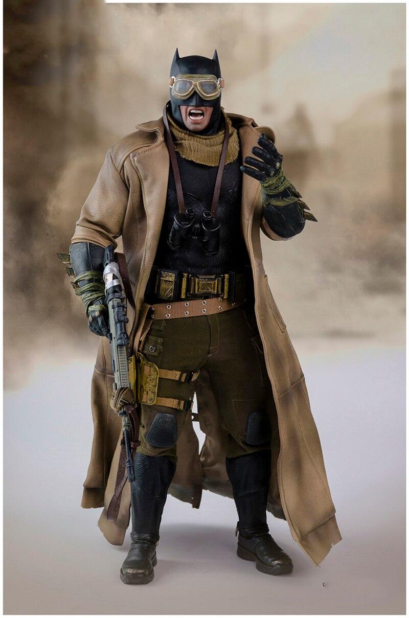 1 6 Batman VS Superman Desert Clothes Suit Set for 12inch Action Figure DIY