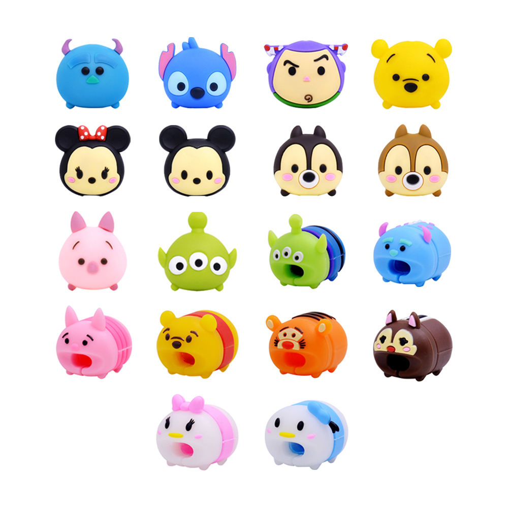 CHIPAL Cable-Protector Organizer Doll-Model-Holder Wire-Winder Data-Cable Tsum Animal