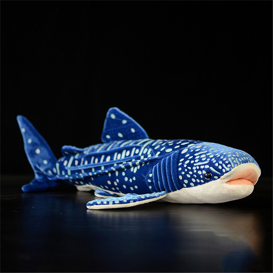 Blue Whale Stuffed Animal Toy Soft Animais Kids Soft Toys Plush Doll Kawaii Stuffed Animals Blue Shark Plush Toy Cute Gift 70C8 35cm 45cm japanese alpacasso soft plush toys doll giant stuffed animals lama toys kawaii alpaca plush doll kids birthday gift