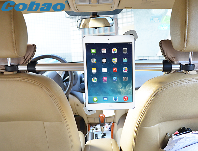 Universal aluminum headrest tablet stand high quality 7 8 9 10 11 inch tablet pc car holder suitable for ipad mini hbt3570100 universal 3 7v 3000mah built in battery for 7 8 9 10 10 1 tablet pc silver