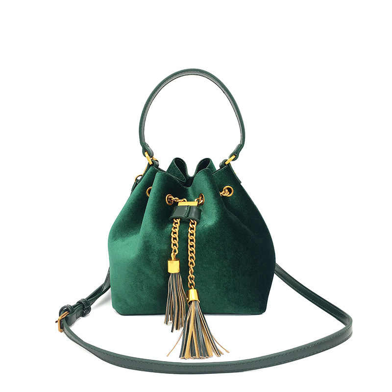 5672e119bfce Женская сумка настройки производителя оптом кисточкой женщины сумку посылка  Золотое руно новый стиль ручной большая емкость
