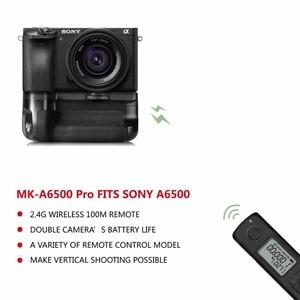 Image 4 - Meike החדש MK A6500 פרו סוללה גריפ מובנה 2.4GHZ מרחוק בקר אנכי ירי פונקציה עבור Sony a6500 מצלמה