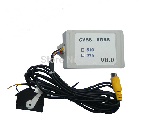 New Upgrade V8 0 Factory Sale Rear View Camera CVBS to RGB and AV to RGB