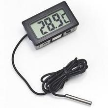 Термограф морозильной камерой зонд жк-цифровой холодильник коробки термометр ~ градусов без