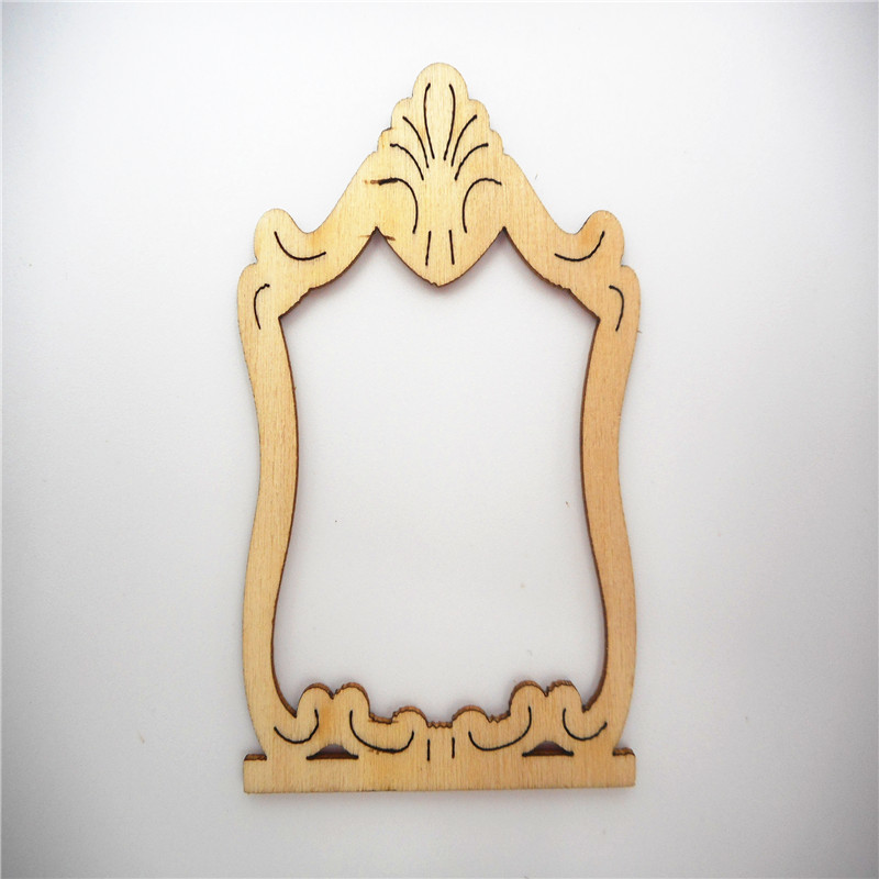 Online buy wholesale unfinished wood frame from china for Wholesale wood craft cutouts