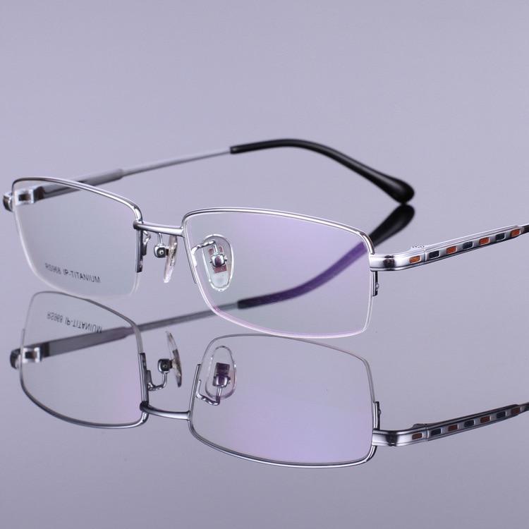 Novi vzorci čistega okvirja očal iz titana, okvirji očala za - Oblačilni dodatki - Fotografija 4