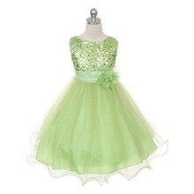 11 цвета девушки свадебные ну вечеринку платья, Девочка ну вечеринку платье летом, Дети одежда для продажи, Без рукавов детские платья девочки