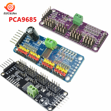 12-разрядный 16 канал ПВМ водитель серводвигателя I2C Интерфейс PCA9685 модуль для Arduino Raspberry pi Robot серво щит драйвер платы