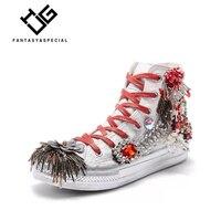 МГС Модная брендовая повседневная обувь Туфли без каблуков Для женщин джинсовая парусиновая обувь; джинсовая текстильная обувь для леди со