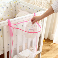 New Multipurpose Baby Storage Bag Baby Dirty Clothes Bag Bed Large Hanging Storage Bag Organizer Baby