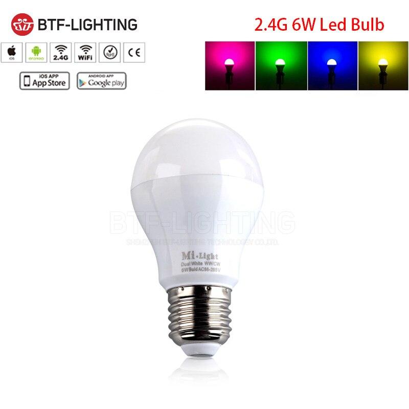 wholesale 2 4g e27 6w rgbw rgbcw rgbww led spotlight bulbs mi light wifi dimmable adjustable. Black Bedroom Furniture Sets. Home Design Ideas