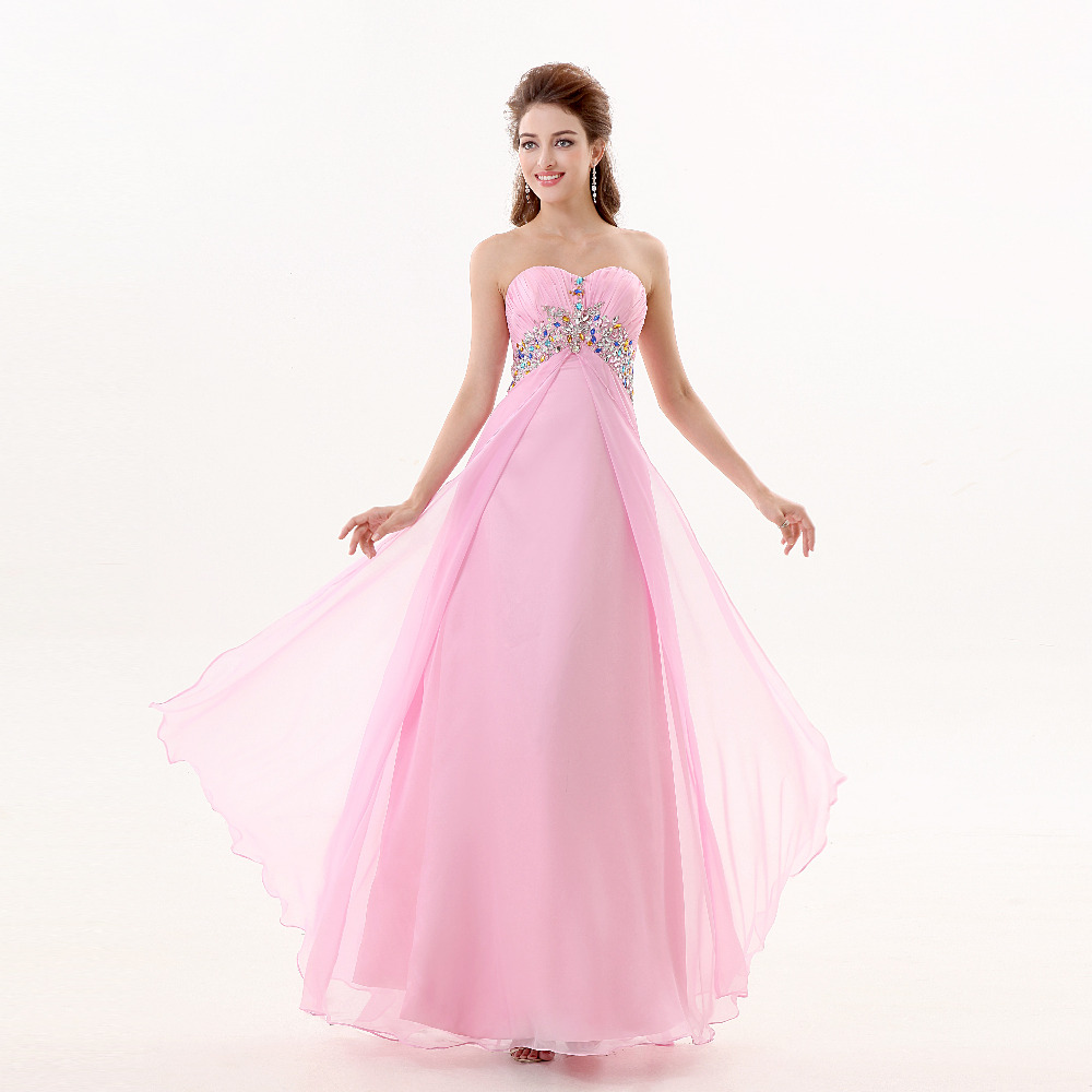 Pretty Pink Prom Dresses Promotion-Shop for Promotional Pretty ...