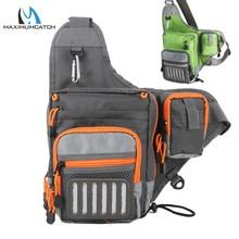Maximumcatch Crossbody Fishing Sling Bag Waterproof Multi Fu