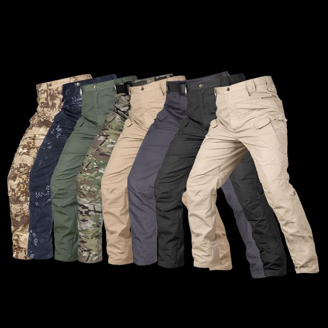 MEGE Brand Tactical Camouflage Military Casual Combat Cargo Pants Water Repellent Ripstop Men's 5XL Trousers  Spring Autumn 57