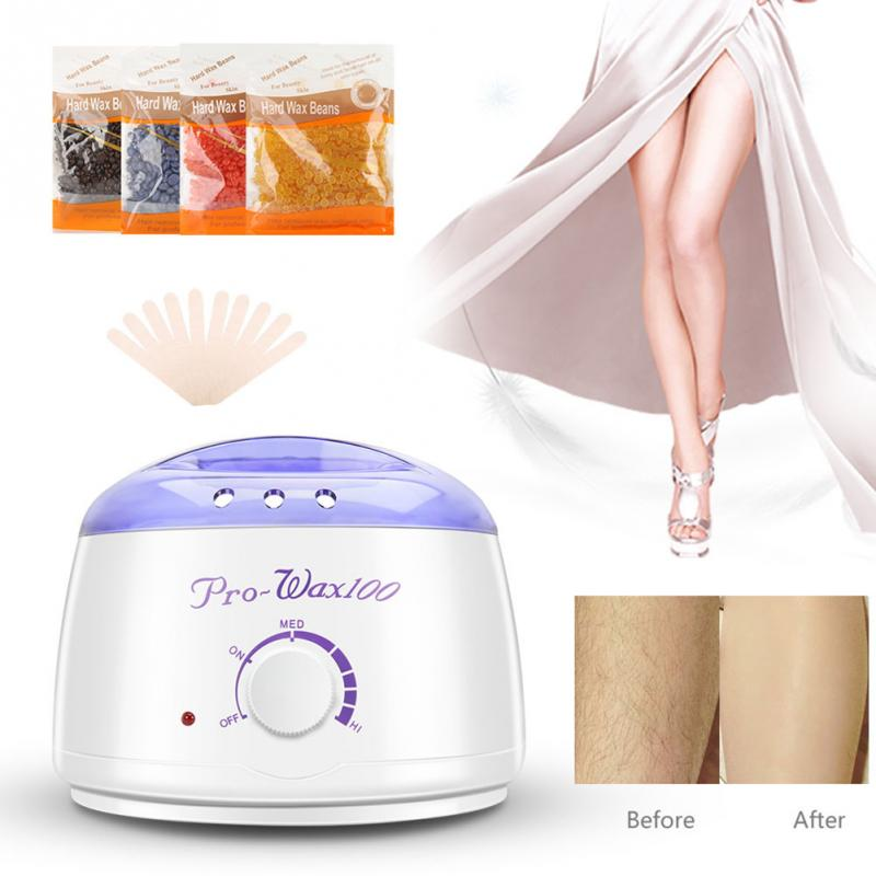 Electric Depilatory Kit Beeswax Melting Machine Arm Body Hair Removal Machine Wax Bean Heater electric motor beeswax comb foundation machine 86 250mm