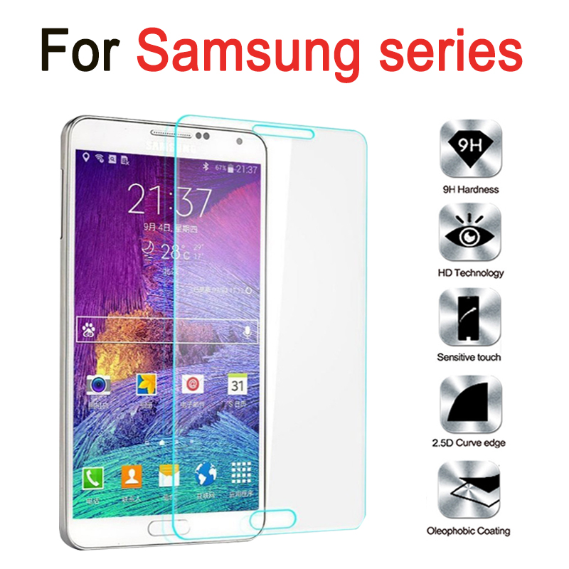 For Samsung Galaxy J5 J3 2016 Tempered Glass For Samsung Galaxy JI J2 J3 J5 J7 2016 Ace Prime Note 4 3 5 Screen Protector Film