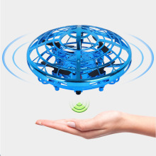 Hand-Controlled Flying Helicopter UFO RC Drone Infrared Induction Aircraft Fairy Upgrade Toys For Kids 3