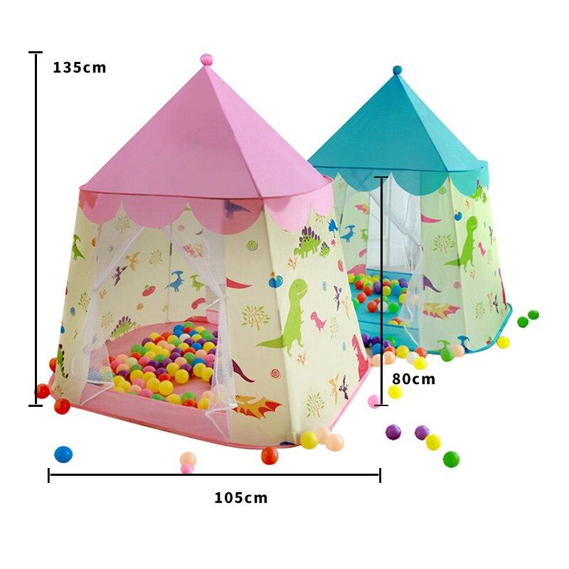 2019 ¡oferta! TIENDA plegable de interior para niños, casa de juegos para niños, mini Casa de juguete para niñas, Castillo de princesas, casa pequeña - 2