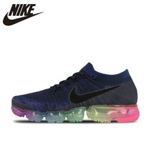 Original Authentic Nike Air VaporMax Be True Flyknit Men's Running Shoes Outdoor Sneakers Designer Athletic 2018 New Arrival(China)