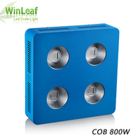 800W COB LED Grow Light Full Spectrum for Hydroponics Indoor Greenhouse Plant Grow and Bloom Led Grow