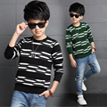 Children Outerwear Baby Boys Sweater Children Clothing Casual Big Boys Sweaters Kids O-Neck Pullover Baby Clothes Boys Top