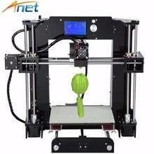 Anet A6 A8 3D Imprimante Kit Grande Taille 220*220*250mm/220*220*240mm Foyer avec Filaments + 8G SD Carte + Outils