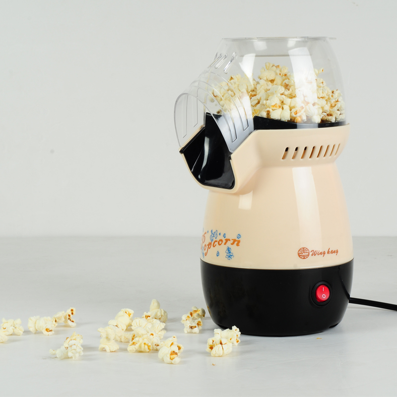 220V Automatic Mini Portable Electric Popcorn Maker Machine Hot-air Electric DIY Sweet Popcorn Machine EU/AU/UK Plug pop 08 commercial electric popcorn machine popcorn maker for coffee shop popcorn making machine