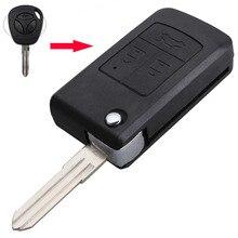 Модифицированные uncut lada бланк ключевые флип shell складные кнопки автомобилей для