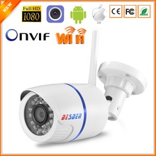P2P ONVIF With SD Card Slot Wireless IP Camera Outdoor 1080P Email Alert Motion Detect CCTV Surveillance Camera IP Wifi