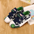 Denim Jeans Niños Sneakers Niños Niñas Zapatos Nuevos 2016 Marca Otoño Smail Niños Suela De Goma Zapatos de Lona Ocasionales Respirables