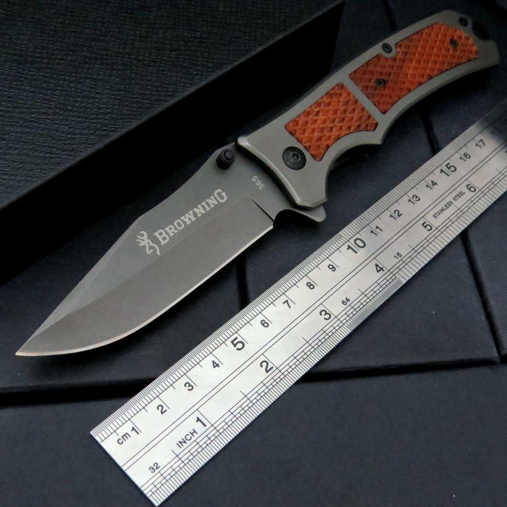 Hot EDC Tool 365 font b Tactical b font Corrosion folding blade font b knife b
