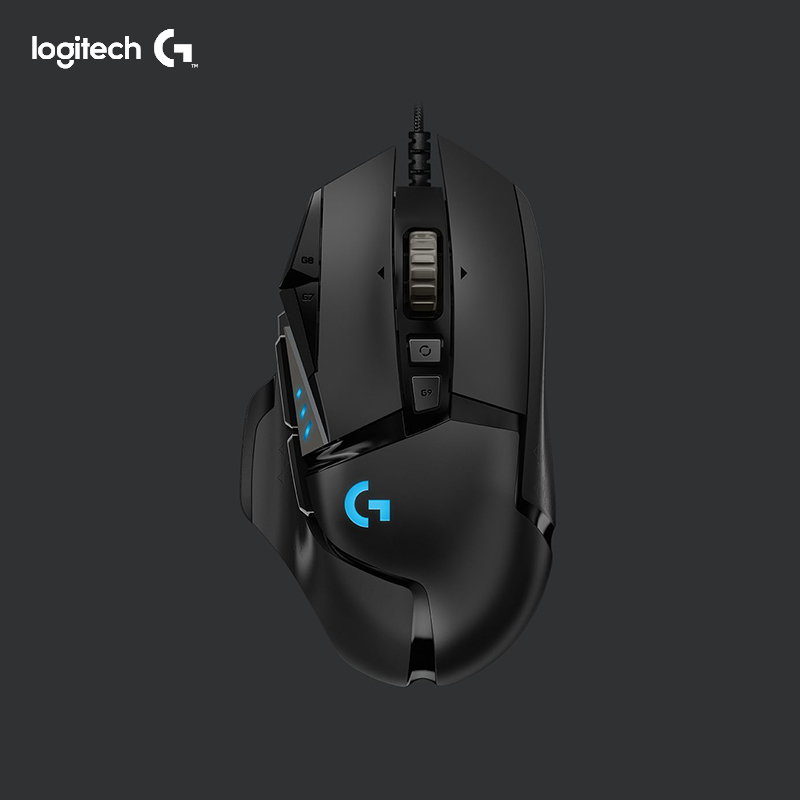 Logitech G502 HERO Gaming Mouse HERO Sensor Wired Mouse LIGHTSYNC RGB with 16 000 DPI Programmable
