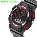Top Brand Luxury Men Relogio Digital Electronic Wrist Watch Sanda S Shock Watches LED Clock Mens Shockproof Waterproof Saat New